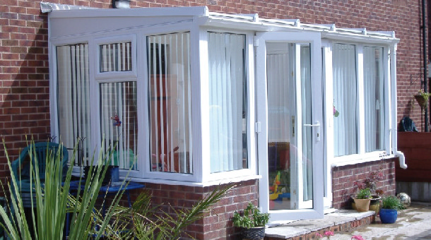 Lean to conservatories the conservatory works ltd for Cheapest way to roof a house